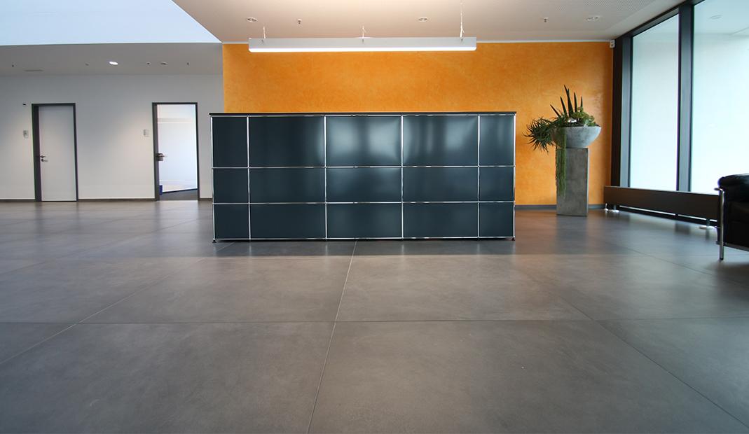 Backes AG, Eingangsbereich